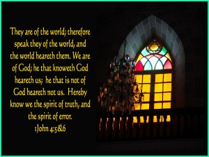 We are of God