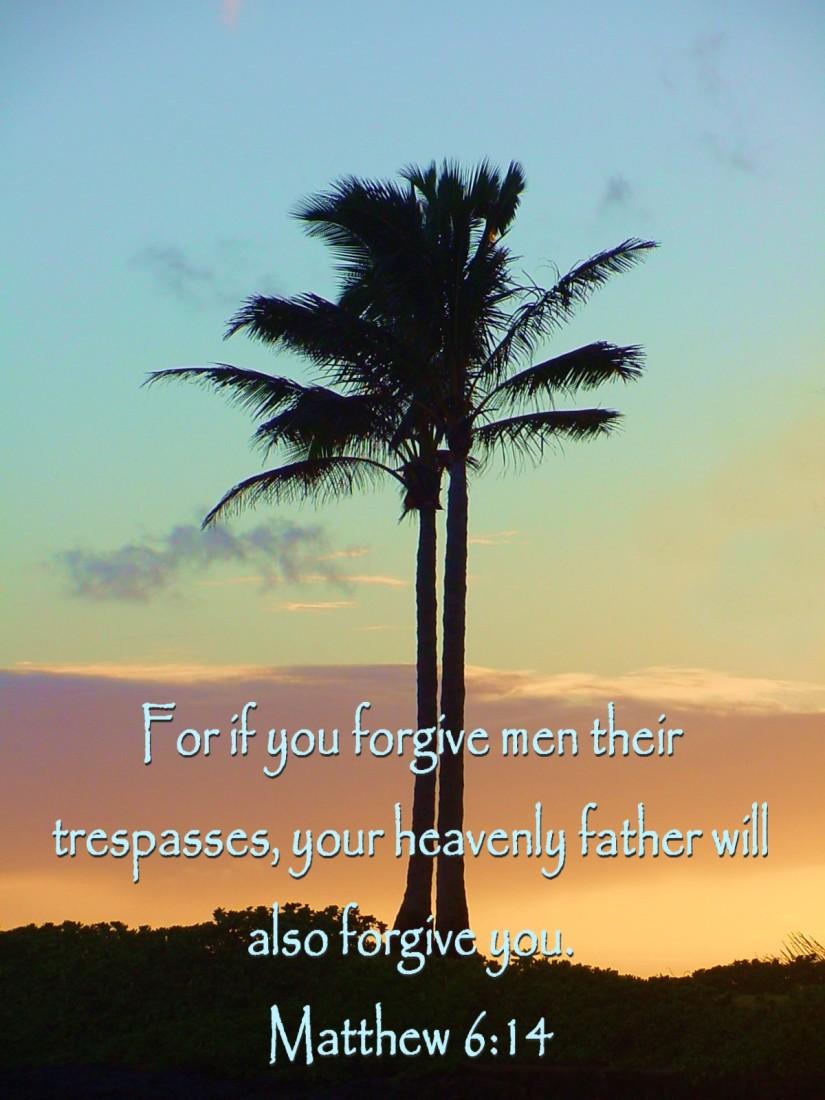 Un-forgiveness